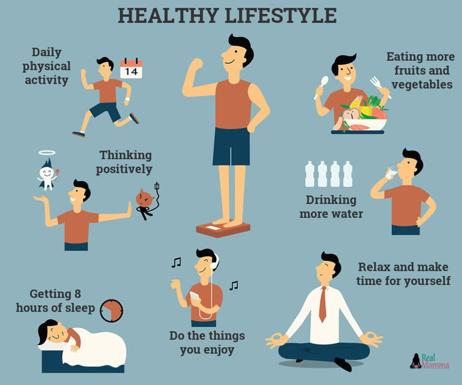 healthy routine